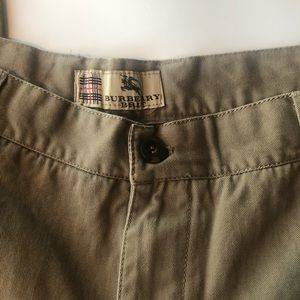 Burberry men's khakis